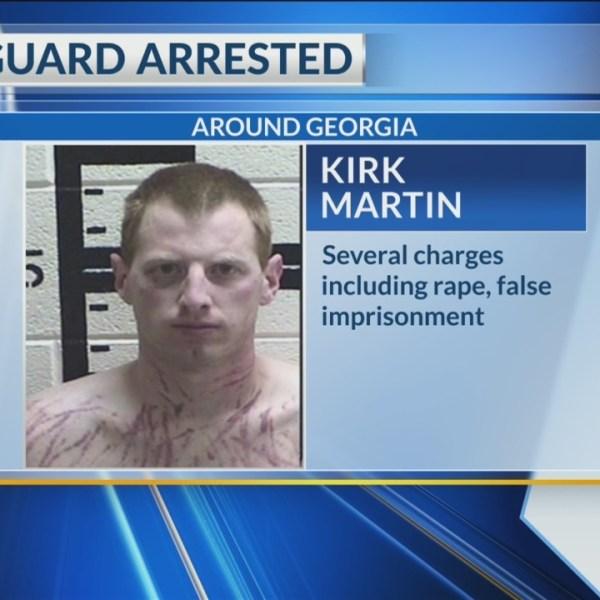 GA jail guard arrested