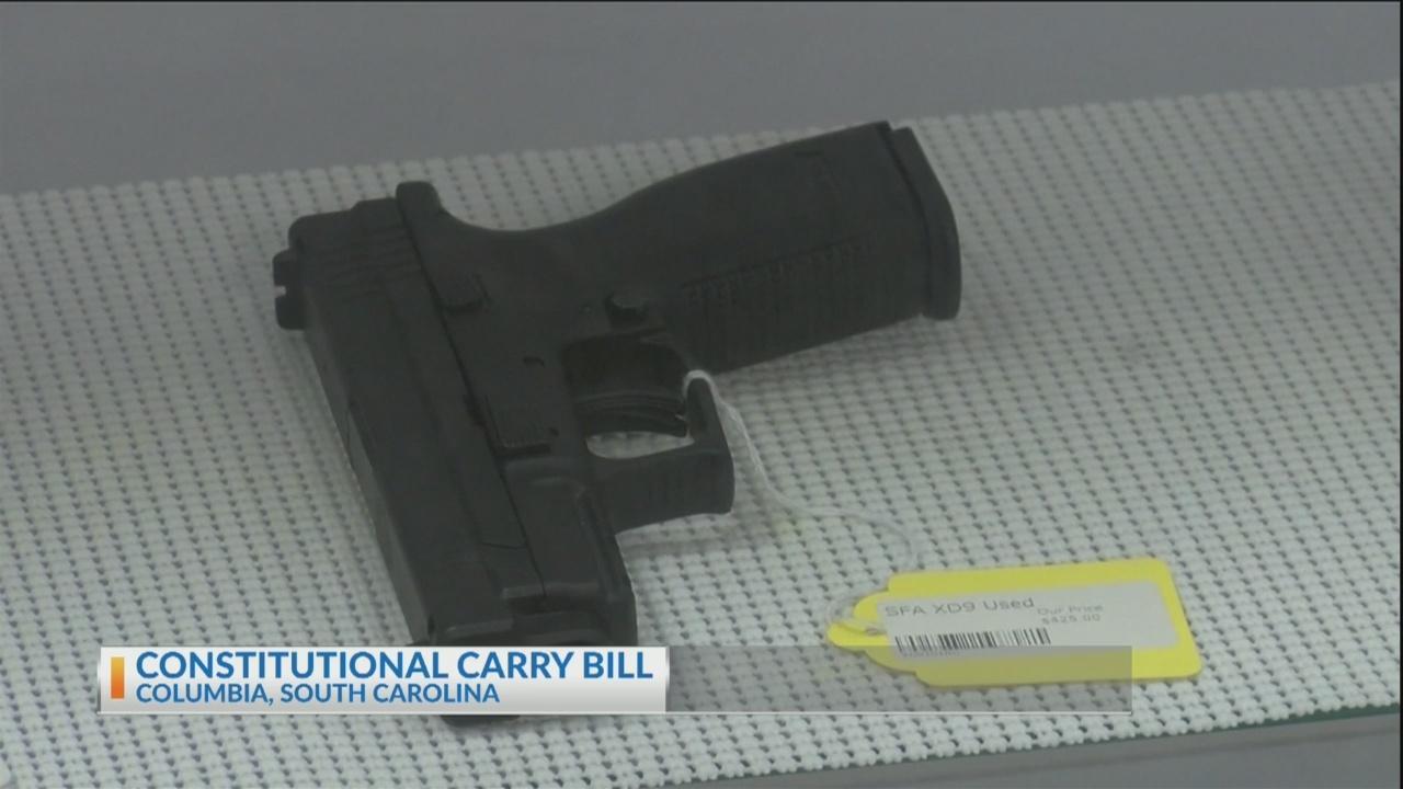 South Carolina Constitutional Carry Bill