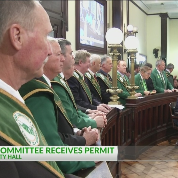 St. Patrick's Day Parade Committee receives permit
