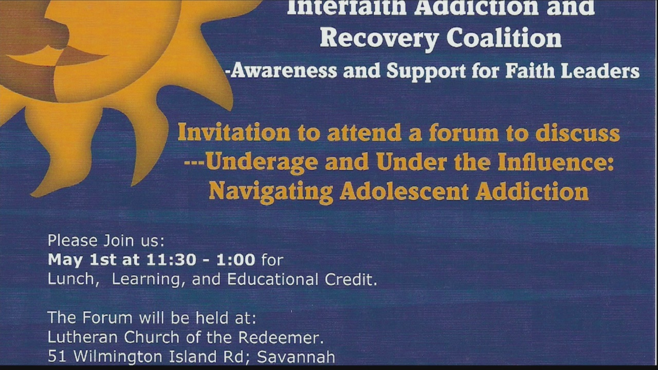 Faith leaders coming together to fight addiction