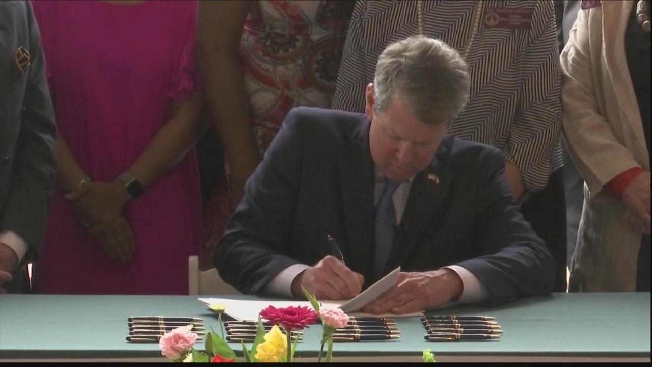 Georgia Gov. Kemp signs health care legislation