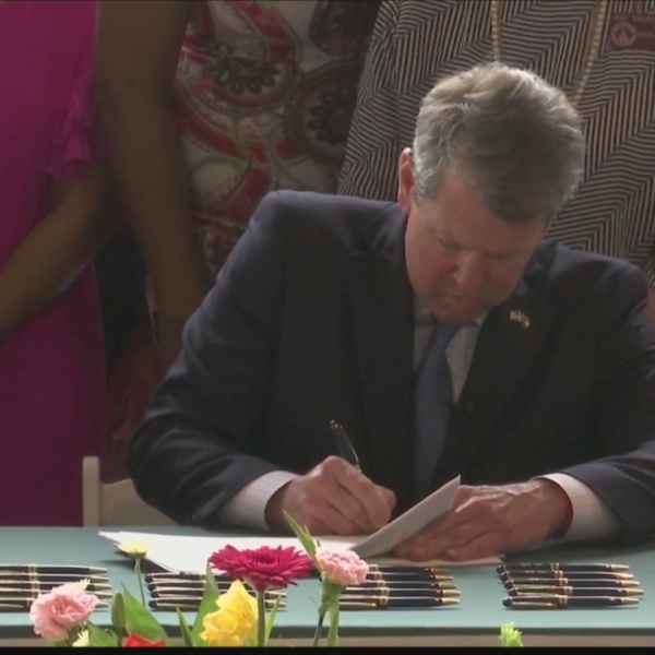 Georgia Gov. Kemp signs health care legislation