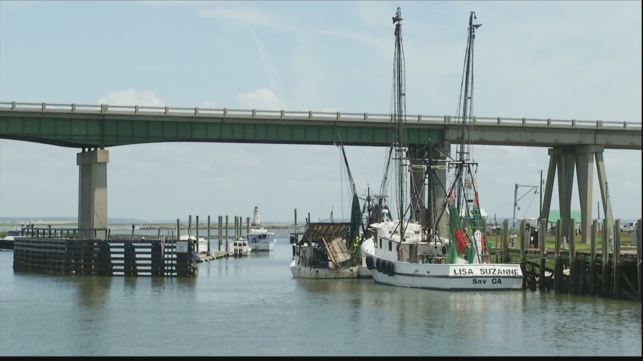Bridge replacement project on Tybee Island