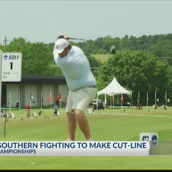 Field Report: Georgia Southern golf fighting to make NCAA Championship cut-line, Bluffton's Nimmer prepares for final round of career