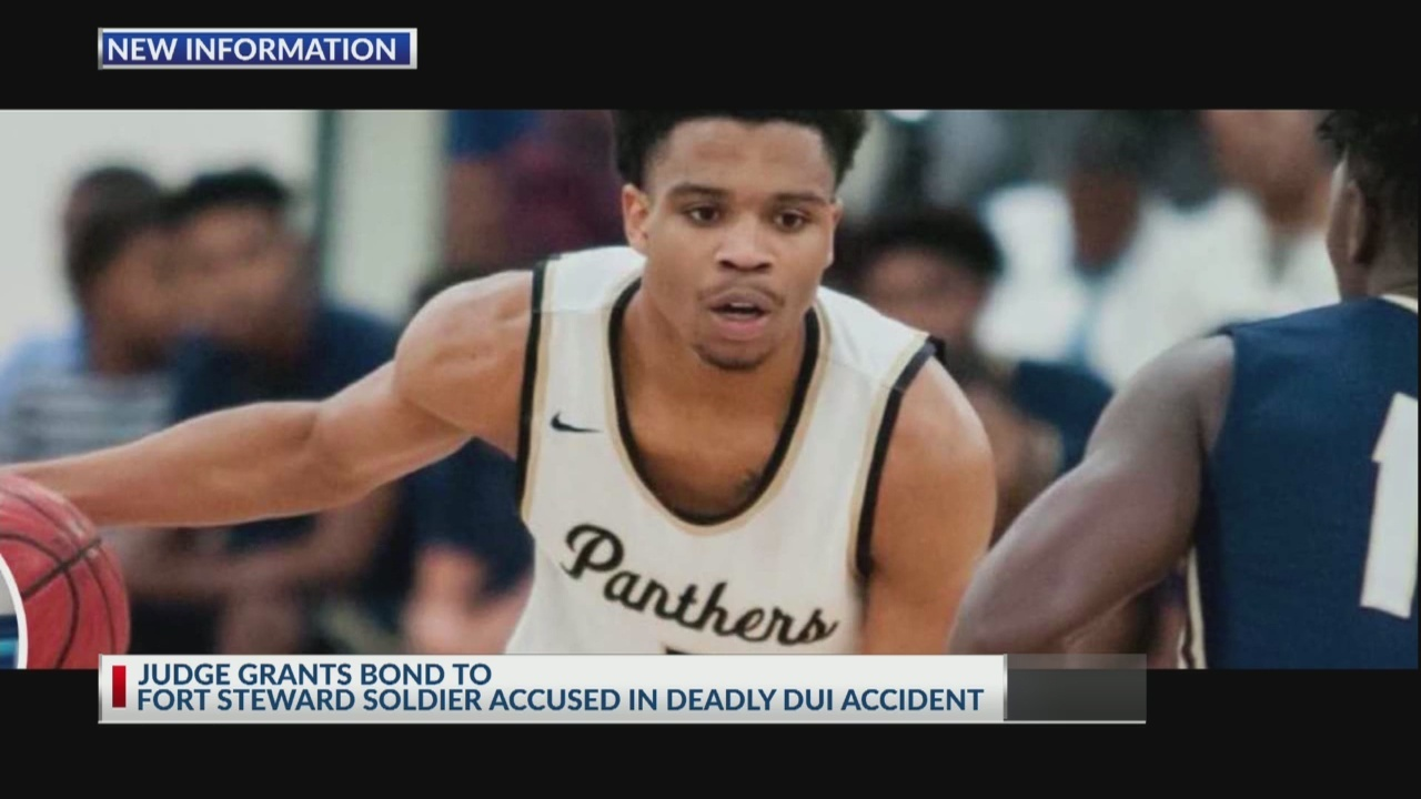 Judge grants bond to soldier accused in fatal crash with