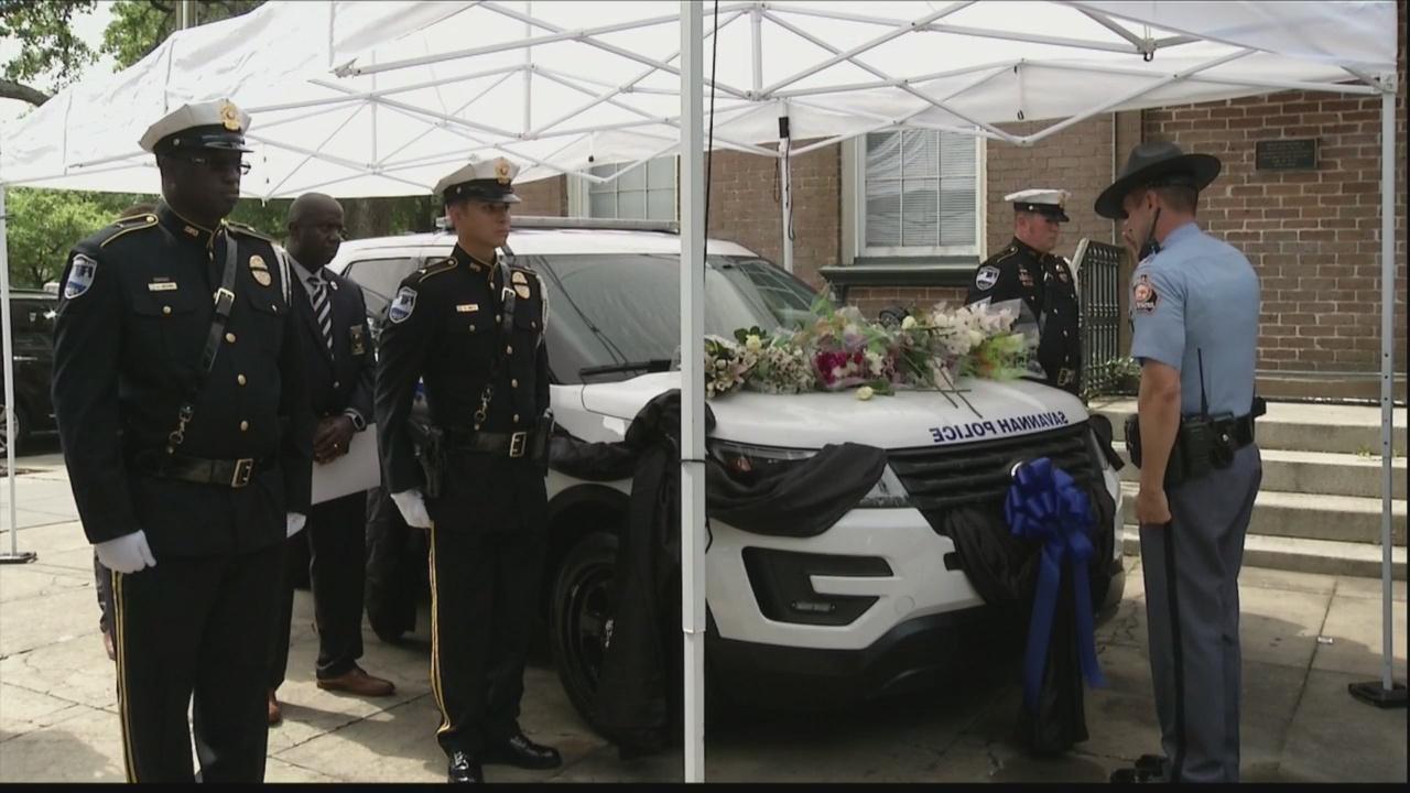 Memorial honors Savannah Police Sgt. Kelvin Ansari