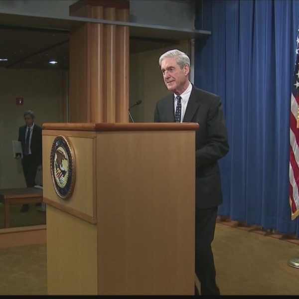 Mueller publicly addresses Russia report
