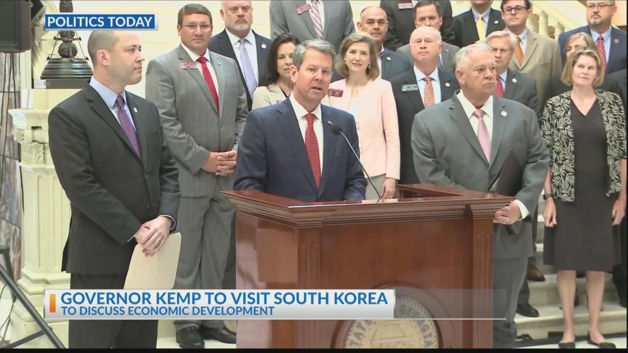 Governor Kemp to travel to South Korea