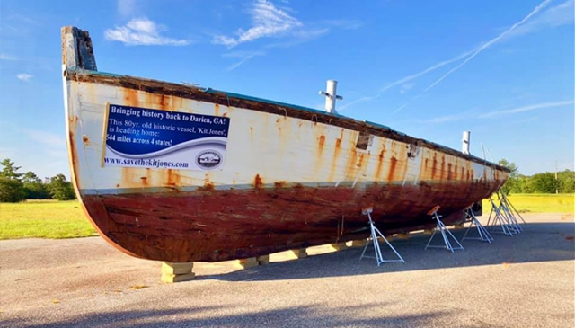 Historic tugboat returns to McIntosh County, but restoration