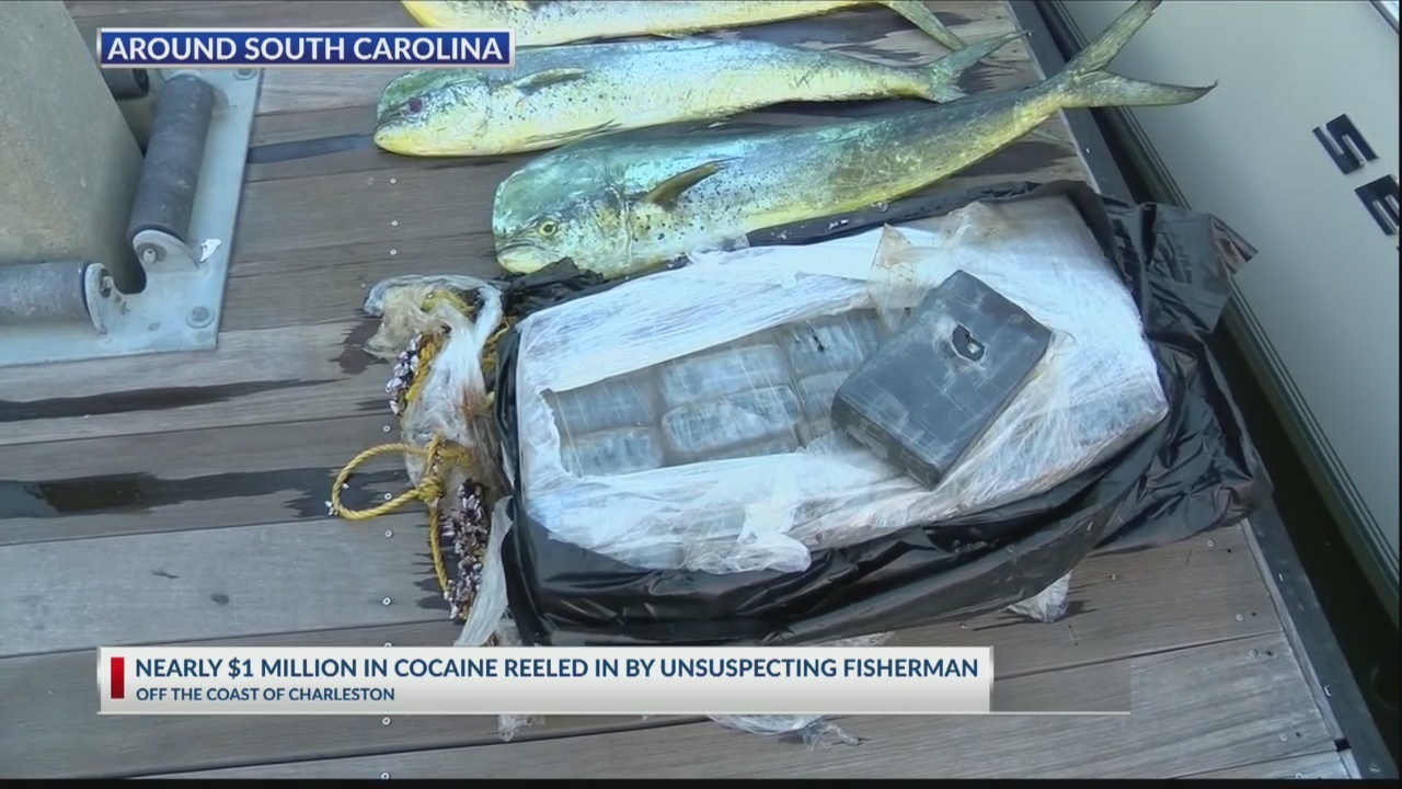 SC fishermen pull in big catch of cocaine