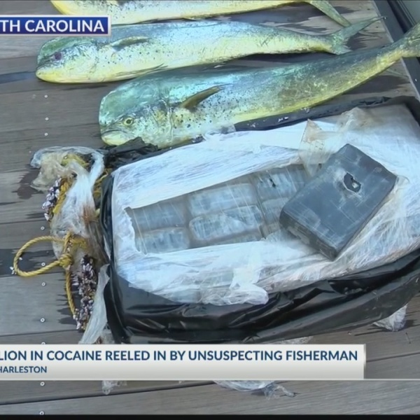 SC fishermen pull in big catch of cocaine