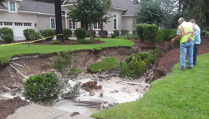 This week in weather: Sinkhole, flooding seen in Lowcountry