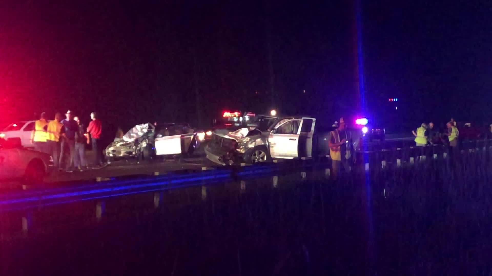 Two dead after crash on I-95