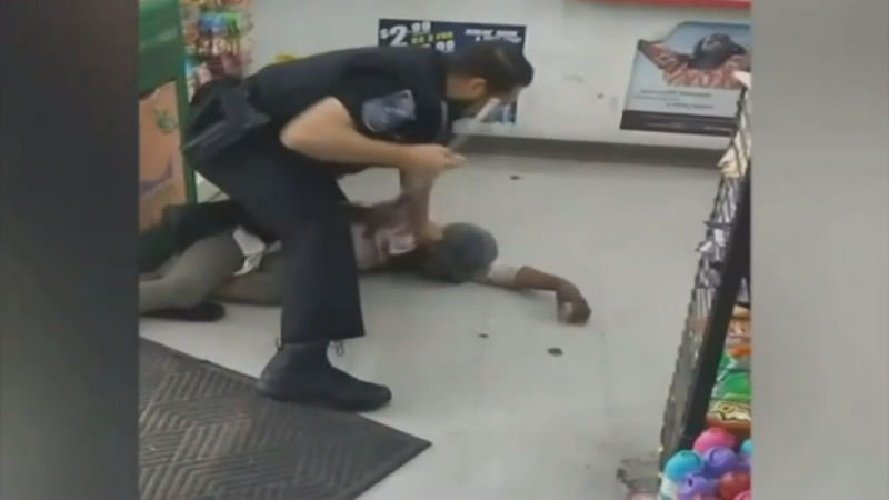 GA officer seen on video beating homeless woman charged
