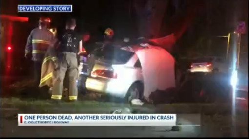 A crash in Hinesville leaves one person dead   WSAV-TV