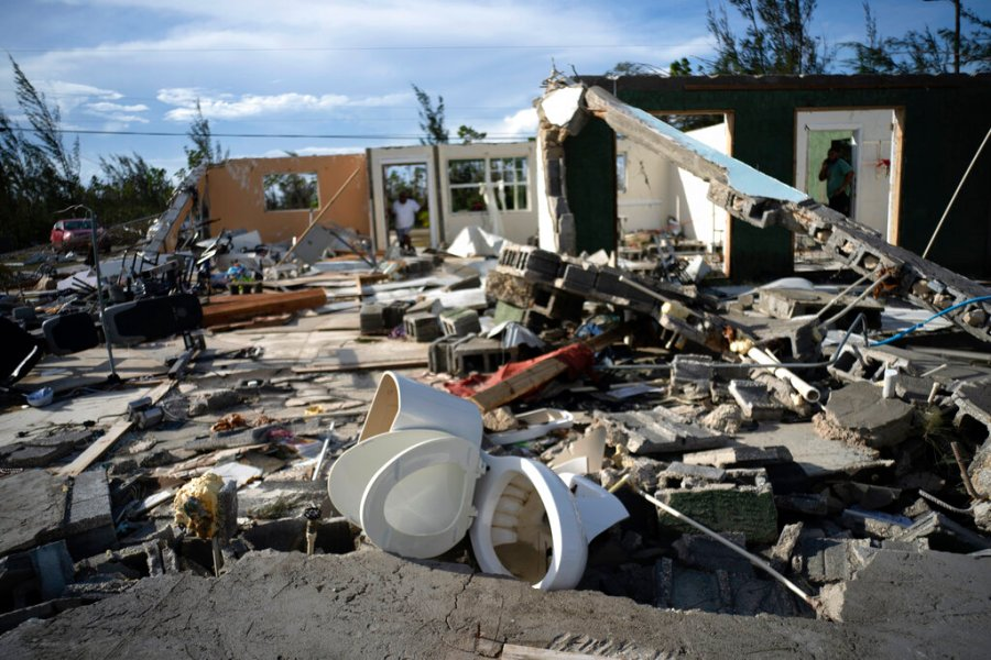 We need help': Rescuers in Bahamas face a ruined landscape