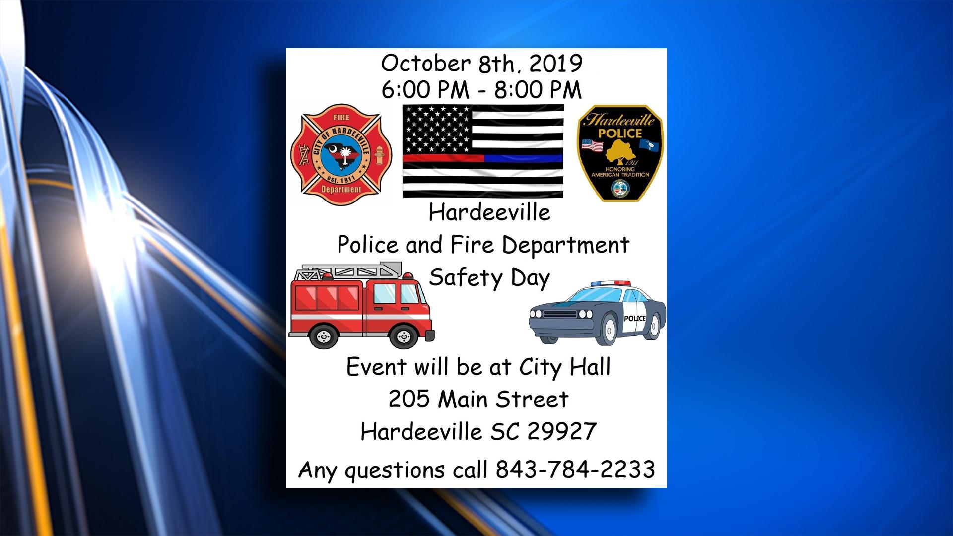 Hardeeville Hosts Public Safety Night Wsav Tv