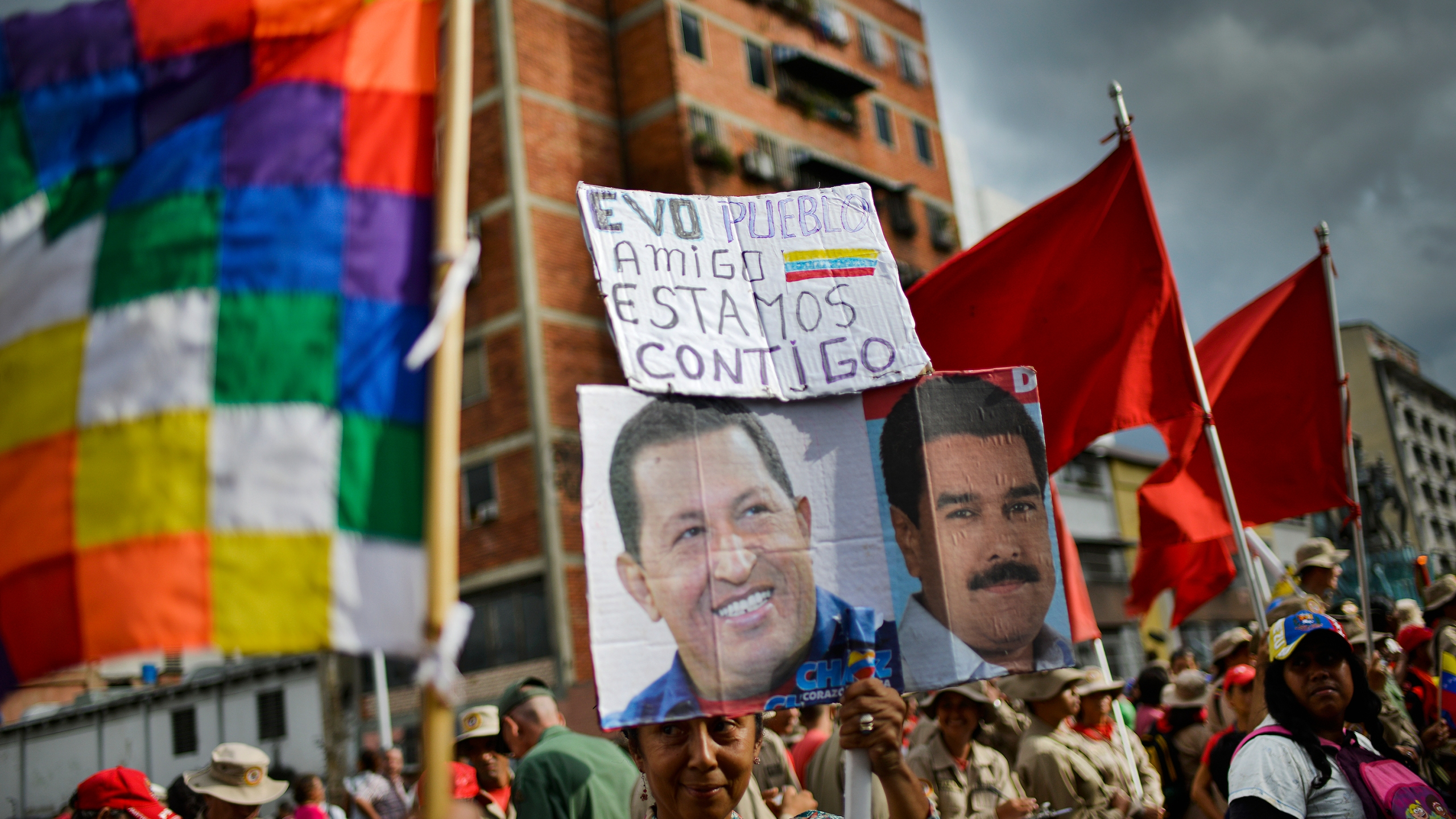 Venezuela Pro Government Evo Morales