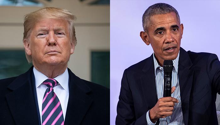 Trump, Obama tie in 2019 most admired man poll | WSAV-TV