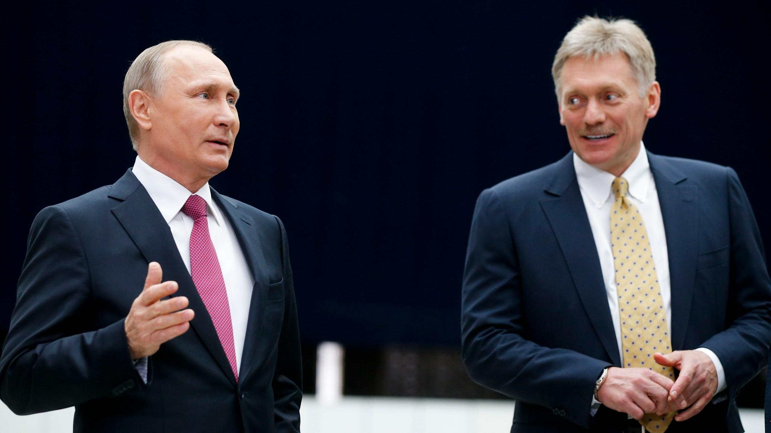 Vladimir Putin, Dmitry Peskov