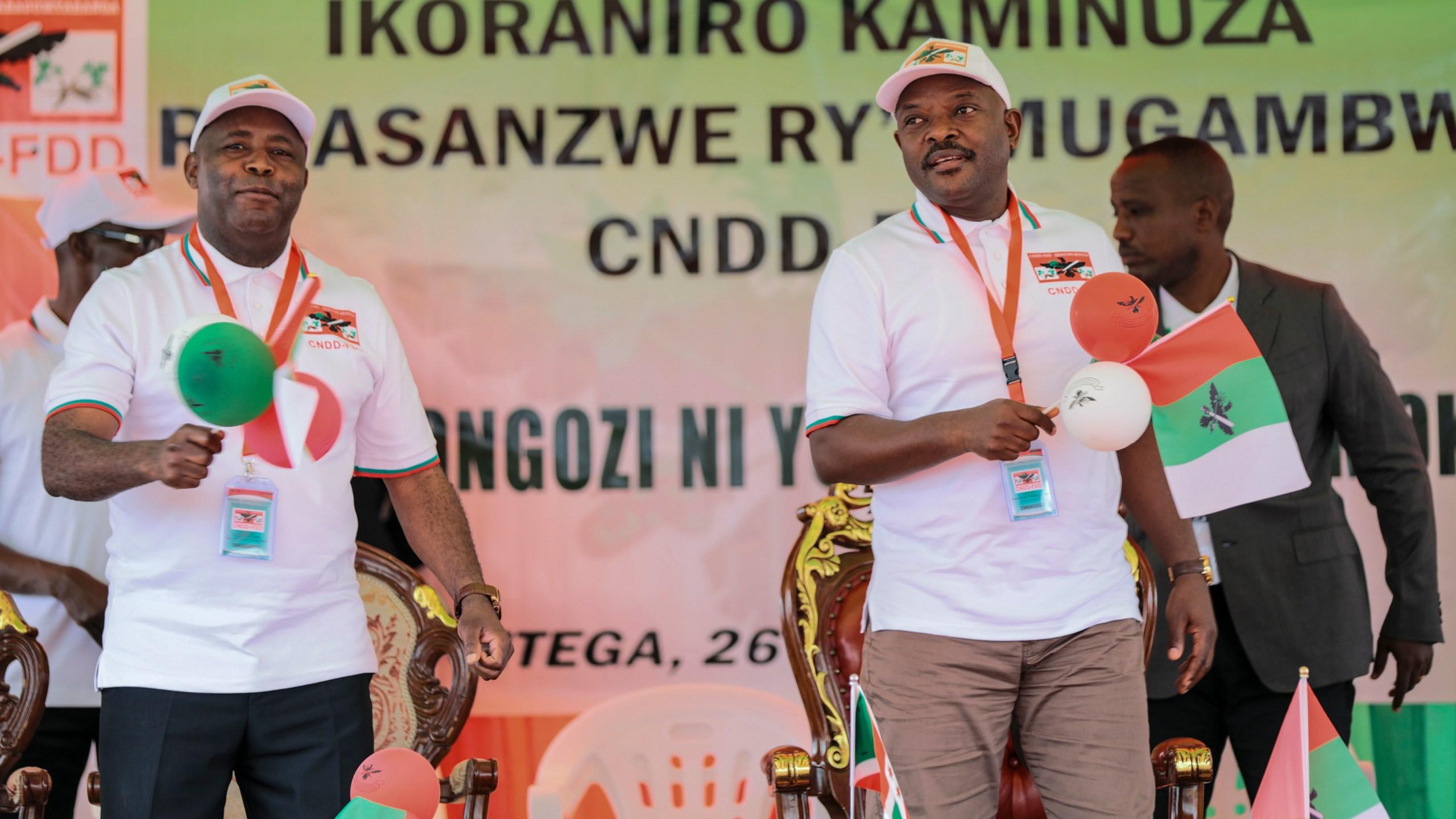 Evariste Ndayishimiye, Pierre Nkurunziza