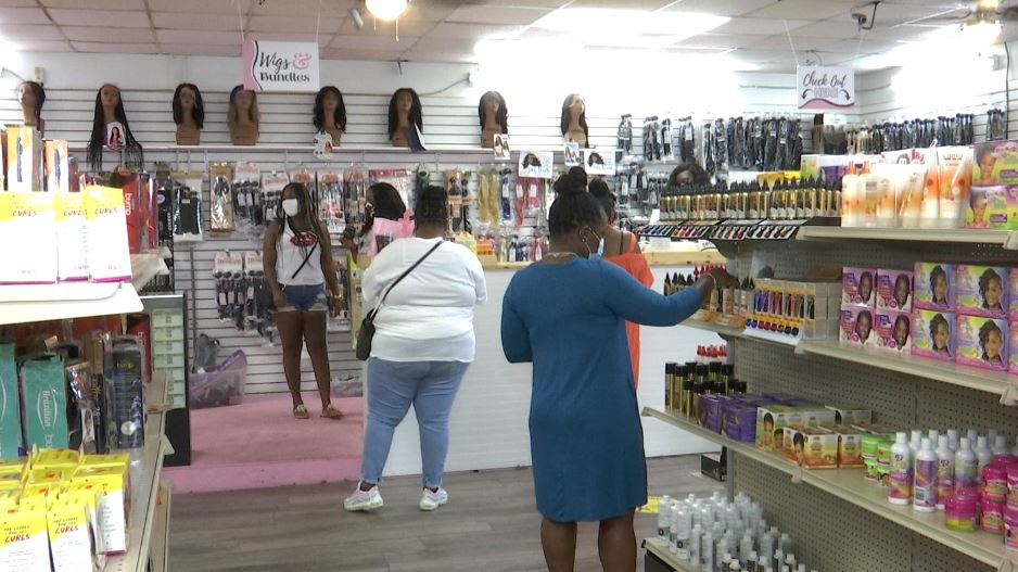 Statesboro's first Black-owned beauty supply store hosts ...