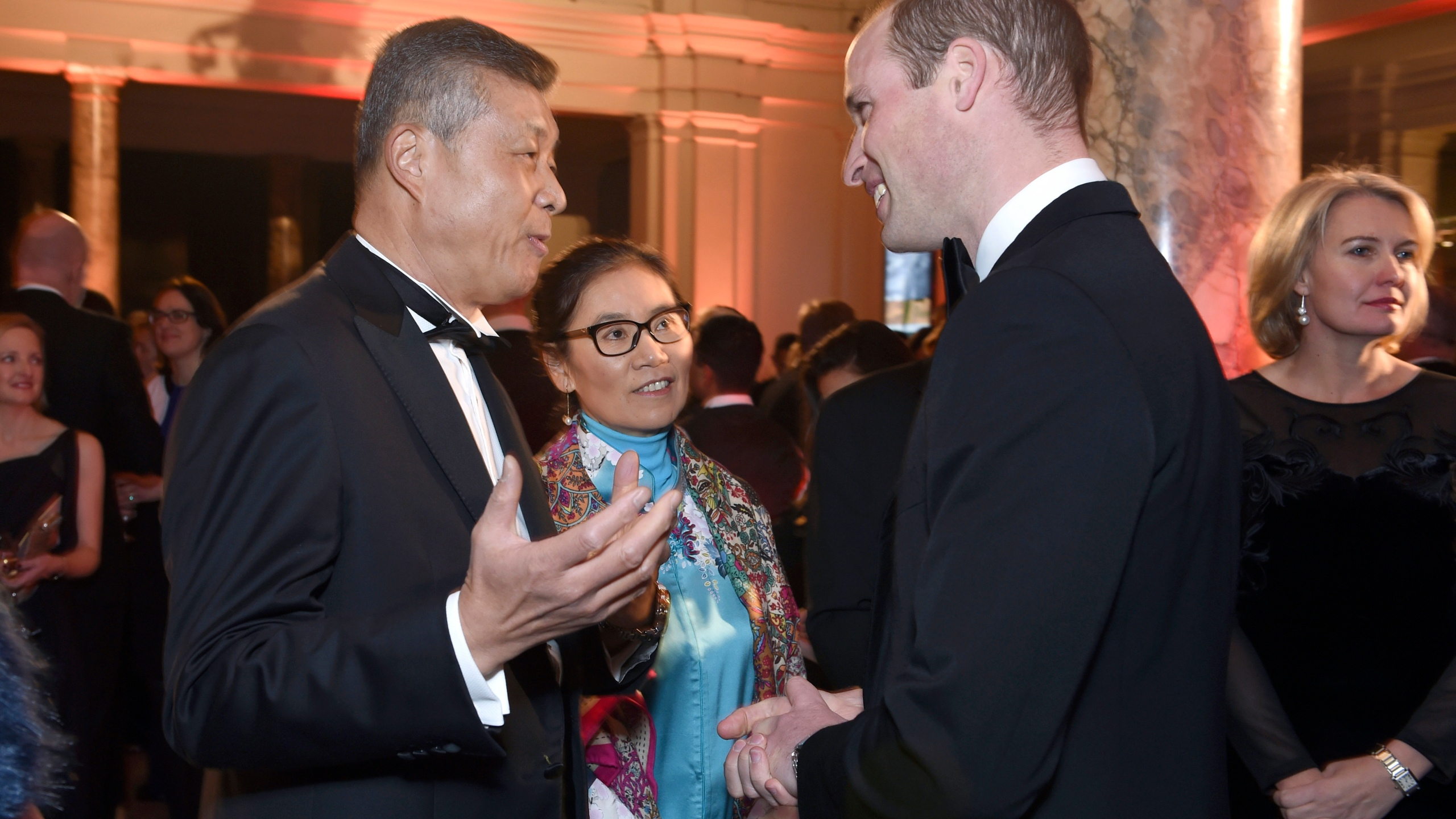 Liu Xiaoming, Prince William