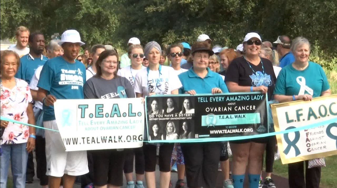 Savannah S 7th T E A L Ovarian Cancer Awareness Walk To Be Held Virtually Wsav Tv