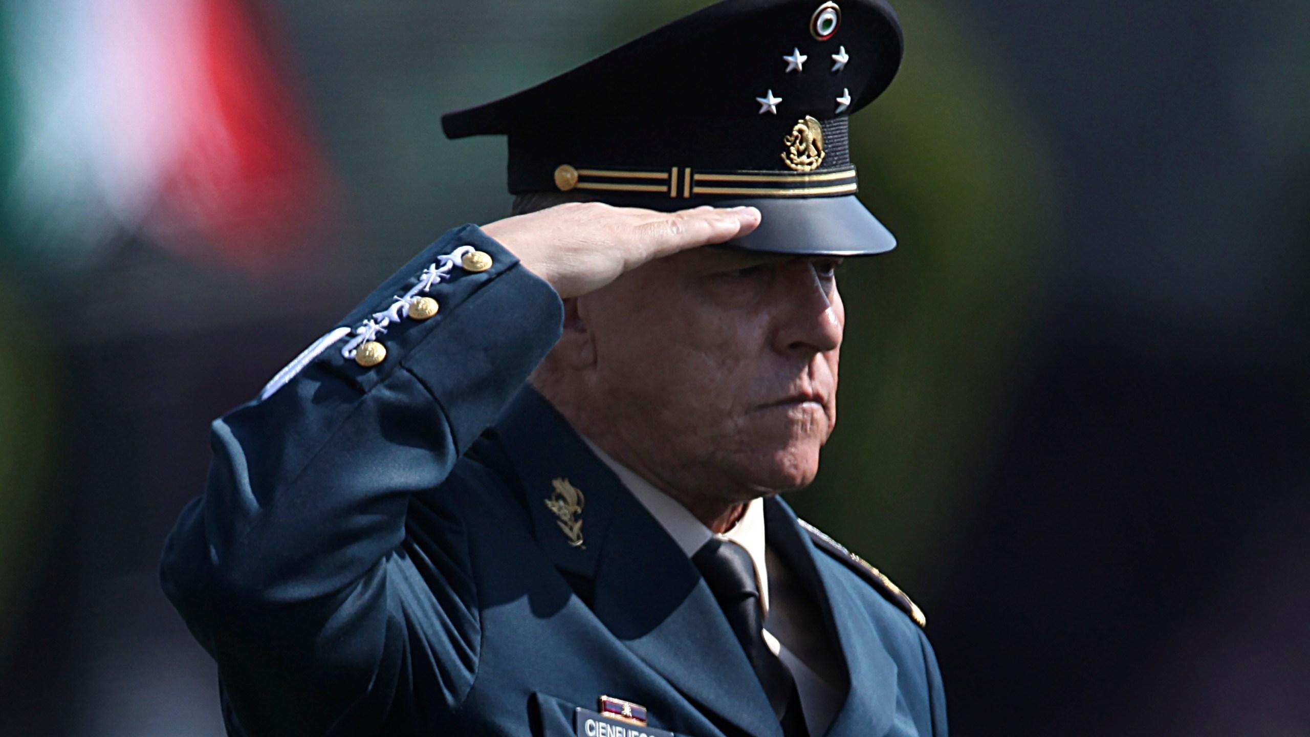 Gen. Salvador Cienfuegos Zepeda